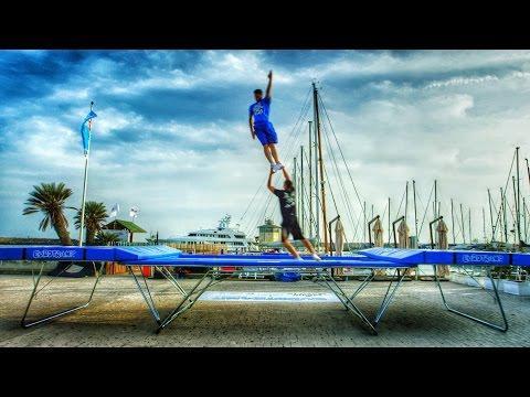World's Best Trampoline Tricks! In 4k! Eurotramp