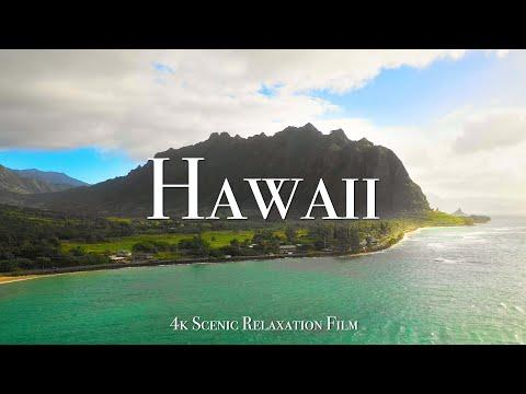 Hawaii 4K - Scenic Relaxation Film with Calming Music #Video
