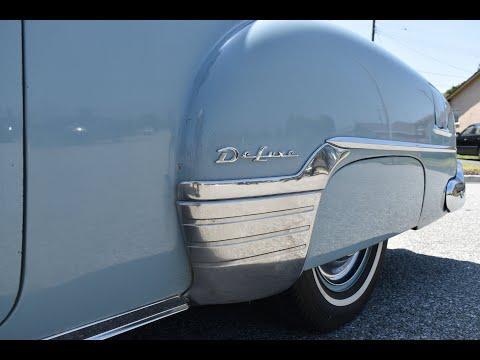 1952 Chevrolet Video - 2dr Deluxe 36K Actual Mile Survivor