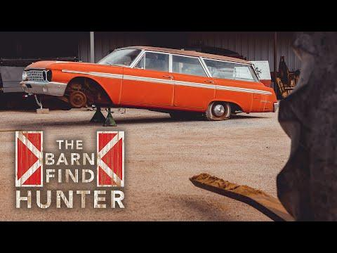 Part 1/3 - Tom restores a Country Sedan he found in a junkyard | Barn Find Hunter - Ep. 60