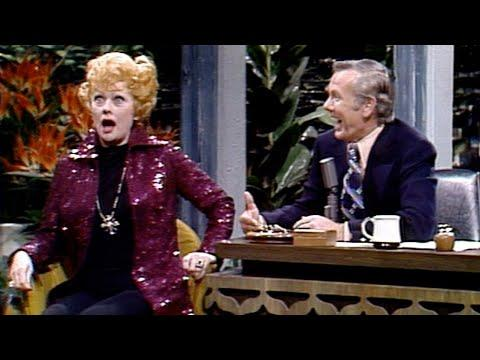 Johnny Asks Lucille Ball About When She Lost Her Virginity on Carson Tonight Show - 03/22/1974