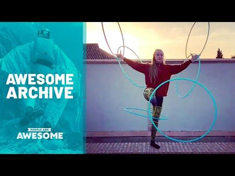 Incredible Circus Tricks & More | Awesome Archive Video