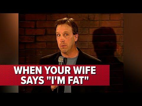 When Your Wife Says 'I'm Fat' | Comedian Jeff Allen #Video