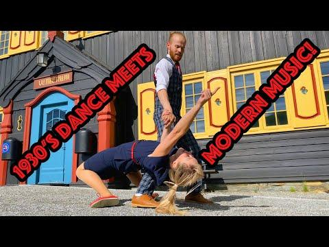 Dance Monkey meets Lindy Hop Dancing! Sondre & Tanya #Video