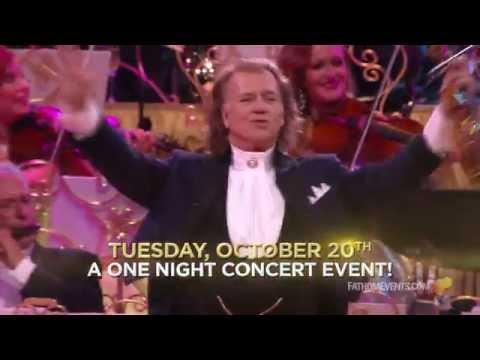 André Rieu In US Cinemas – October 20 Only