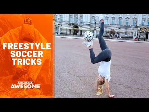 Best Footballers & Freestyle Soccer Tricks Video | People Are Awesome