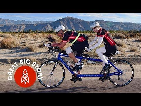 This Couple Races 750-Miles On a Tandem Bike