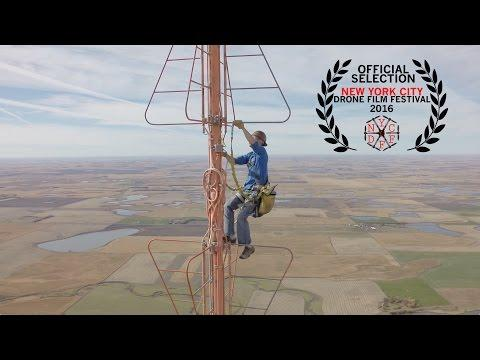 Changing A Light Bulb 1500 Feet Off The Ground!
