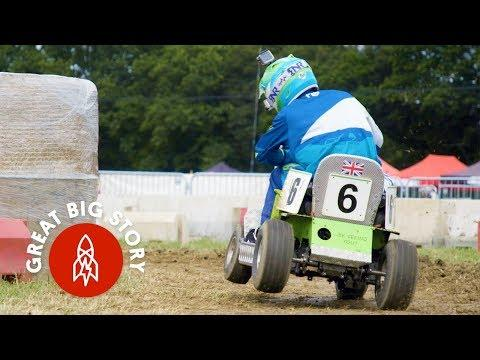 An Epic 12-Hour Lawnmower Race