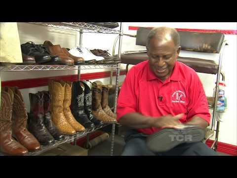 Shoe Shine Man Extraordinaire!
