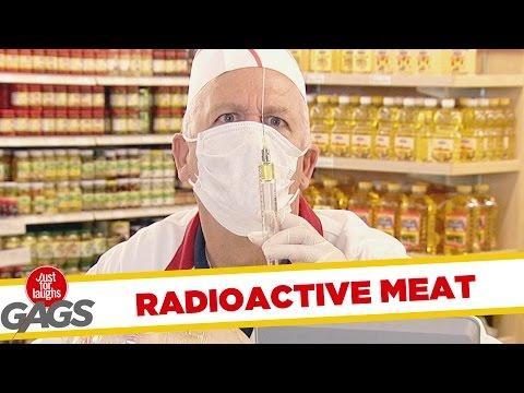 Radioactive Meat Test Prank