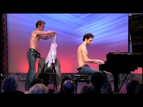 Changing Clothes While Playing Piano