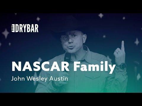 NASCAR For Families. John Wesley Austin