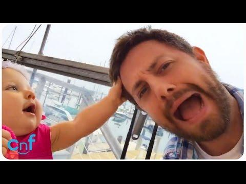 Funny! - Man Gets Interrogated By His Baby Niece