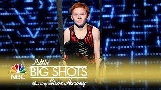 Little Big Shots - Talented Young Gymnast (Episode Highlight)