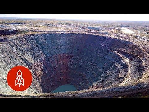 This Diamond Mine Has a Soviet Russian Past