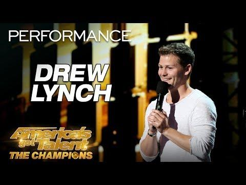 Drew Lynch: Hilarious Comedian Tells The MOST Relatable Story - AGT: The Champions