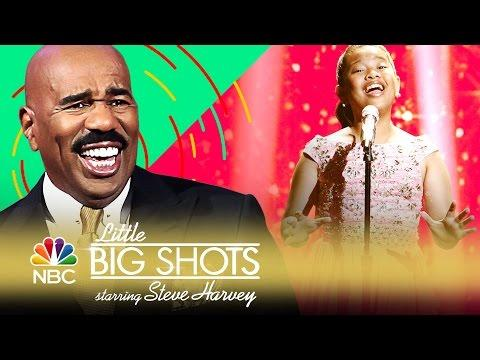 "Little Big Shots - 12-Year-Old Crushes Sia's ""Chandelier""! (Sneak Peek)"