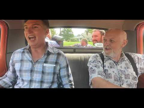 Alan Bibey and Grasstowne - Hitchhiking to California - Official Music Video
