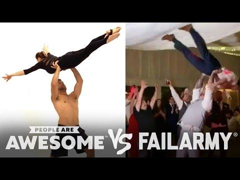 Terrible and Amazing Dance Moves Video | People Are Awesome Vs. FailArmy