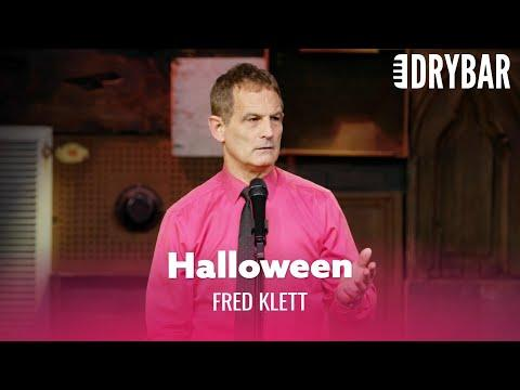 Halloween In A Big Family Video. Comedian Fred Klett