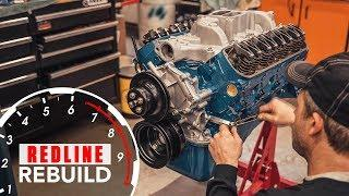 Ford 289 V-8 engine rebuilt from basic to bruiser | Redline Rebuild #9