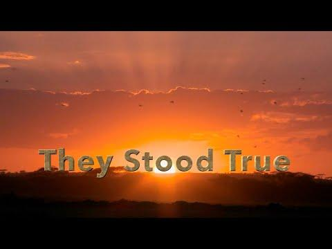 They Stood True | Official Lyric Video | Redeemed Quartet #video