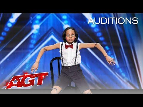 Kid Dancer Video -  Noah Epps Delivers Cool Marionette Performance - America's Got Talent 2020