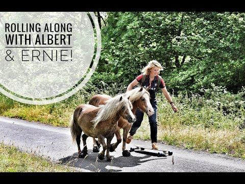 Rolling along with Albert & Ernie. Emma Massingale