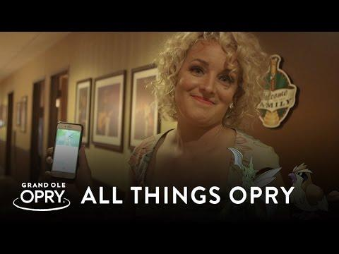 Cam Plays Pokemon Go Backstage at the Opry   All Things Opry   Opry