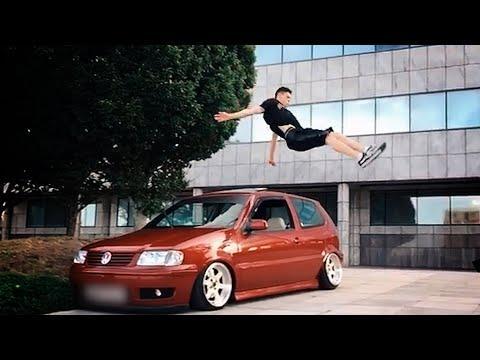 Freerunning Over A Car & More Parkour Stunts! | Ultimate Compilation Video