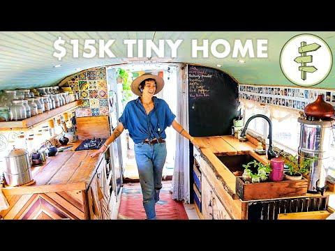 Fantastic School Bus Tiny House Conversion Video