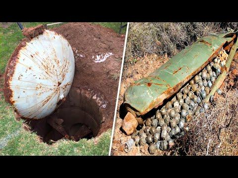 8 Insane Things Found by People in Their Backyards Video
