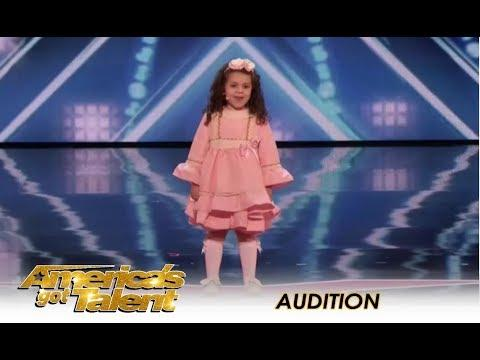 Sophie Fatu Video: The CUTEST 5-Year-Old Audition Ever! AGT.
