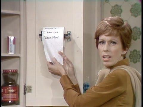 Toilet Tissue From The Carol Burnett Show (full Sketch)