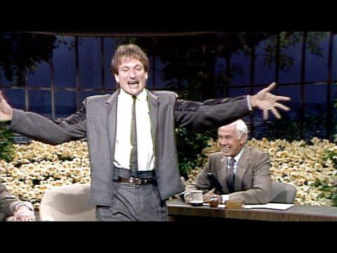 Robin Williams Is Out Of Control On The Tonight Show Starring Johnny Carson - 04/03/1984