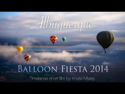 Albuquerque Balloon Fiesta 2014 - Timelapse Short Film