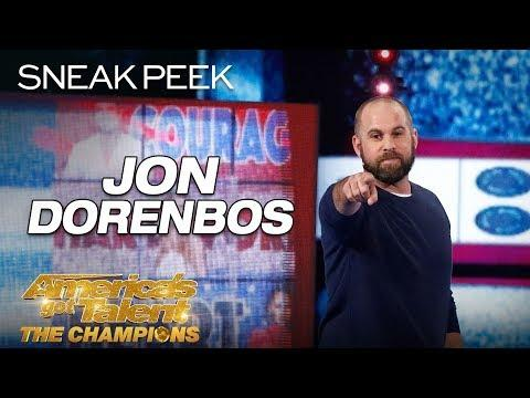 LEAK: Jon Dorenbos Blows Minds With Unbelievable Magic - America's Got Talent: The Champions