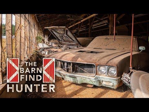 GM muscle: Tom finds a Buick GS Stage 1 and some Oldsmobile 442's | Barn Find Hunter - Ep. 55