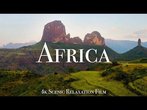 Africa 4K - Scenic Relaxation Film With Calming Music #Video