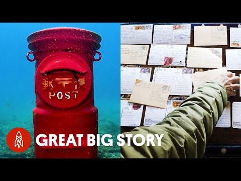 Mailing Letters Under the Sea Video, to the Highest Post Office in the World