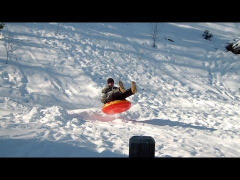 Funny Snow Wipeouts