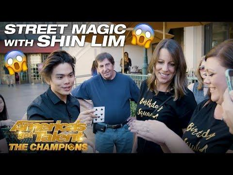 WOW! Shin Lim Blows Minds with Street Magic - AGT: The Champions