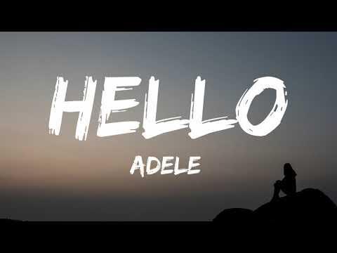 Adele - Hello (Lyrics) #Video
