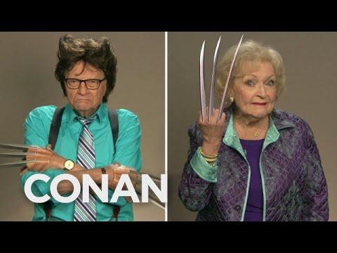 Betty White, And Other Celebrities - Wolverine Auditions