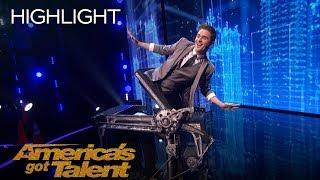 The Illusionists And Light Balance Perform Epic Magic And Dance Collab - America's Got Talent 2018