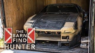Barn Find Hunter | 1972 De Tomaso Pantera Entombed in Trailer for 35 Years - Ep. 22