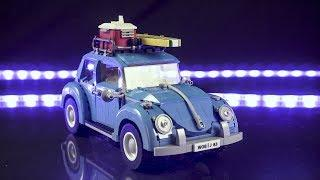 LEGO Volkswagen Beetle Stop-Motion Build