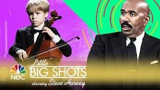 Little Big Shots - His Cello Skills Are Stunning (Episode Highlight)