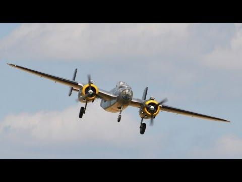 RC Scale Airplanes - Rc B-25 Mitchell 1/5 Scale